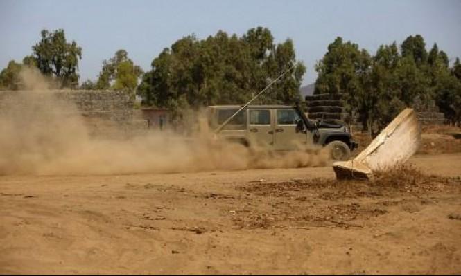 عمليات تمشيط في قلنديا بحثا عن سلاح جندي حرس الحدود
