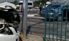 مطاردة بوليسية في جلجولية تسفر عن حادث طرق و3 إصابات