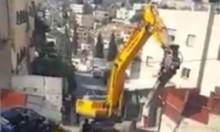 القدس: جرافات الاحتلال تهدم مبنى في سلوان
