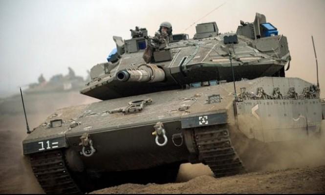 إصابة 3 جنود إسرائيليين في انقلاب دبابة في الجولان المحتل