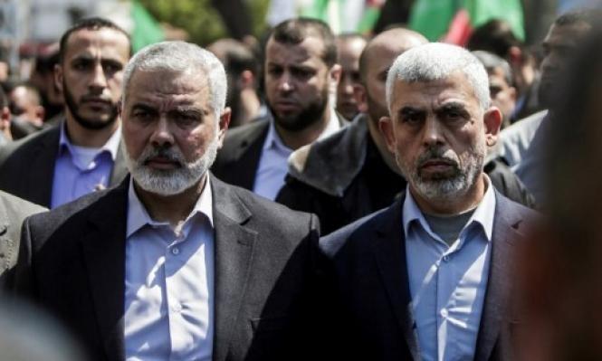 المصالحة وأوضاع  غزة في صلب محادثات حماس بالقاهرة