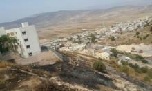 إخلاء مدرستين إثر حريق في البعينة نجيدات