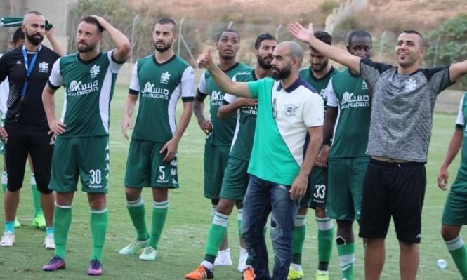 أخاء الناصرة يحقق فوزه الرابع على التوالي بالدوري