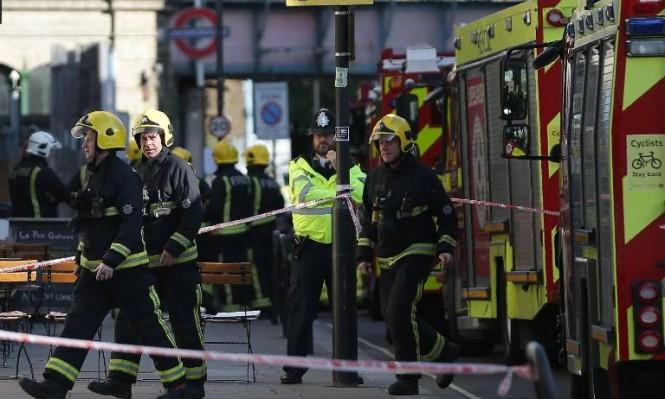 لندن: 22 مصابا بانفجار المترو ليس بينها جراح خطيرة