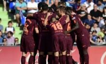 برشلونة يتخطى عقبة خيتافي