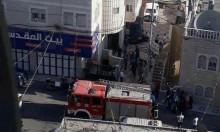 حريق في بناية سكنية بالقدس يسفر عن وفاة طفل