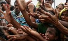 مساعدات فلسطينية لـ1400 أسرة من الروهينغا