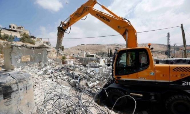 الهدم يتهدد مئات المنازل بالولجة ومخطط لعزلها عن القدس