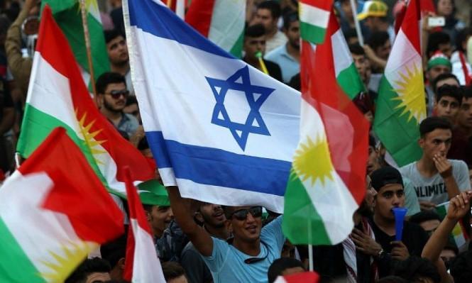 """علم إسرائيل بكردستان وتحذير من قيام """"إسرائيل ثانية"""" بالعراق"""