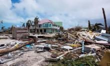 من مخلفات إعصار إيرما في جزيرة سان مارتان (أ.ف.ب)