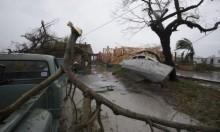 ولاية تكساس بعد السيول التي سببها إعصار هارفي (أ.ف.ب)
