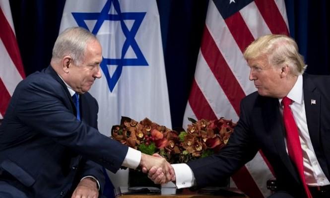 """ترامب يركز على """"عملية السلام"""" ونتنياهو على المسألة الإيرانية"""