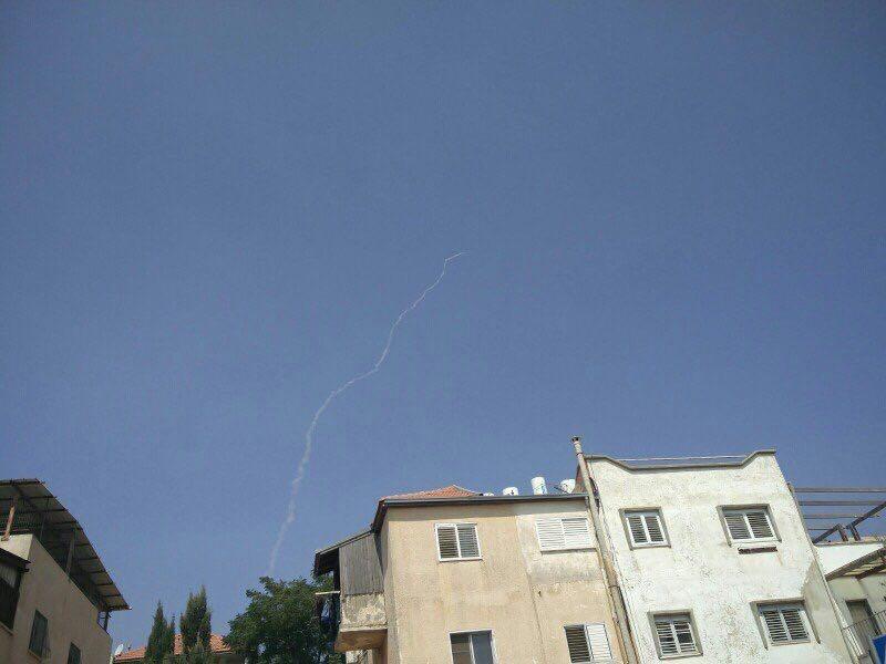 صاروخ باتريوت إسرائيلي يعترض طائرة مسيرة في الشمال