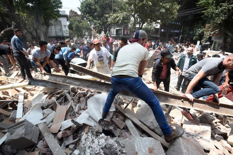 قتلى وجرحى في زلزال يضرب المكسيك