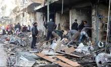 سورية: غارات واشتباكات عنيفة بمنطقة خفض التوتر