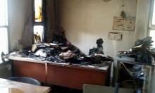 عرب الشبلي: إضراب احتجاجي إثر حرق المركز الجماهيري