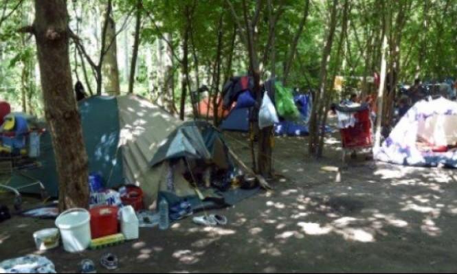 تفكيك مخيم للمهاجرين شمالي فرنسا