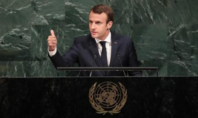 ماكرون بالأمم المتحدة: خارطة طريق لسورية وانتخابات في ليبيا