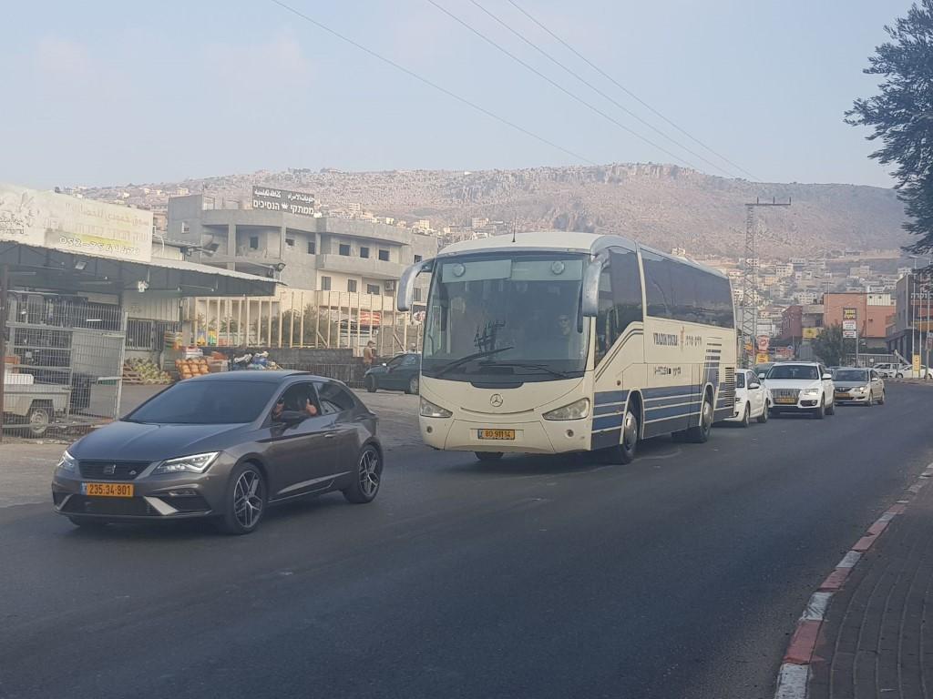 مفرق البعنة ودير الأسد: أزمة السير تتفاقم يوميا
