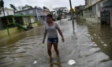 """""""ماريا"""" يحاصر """"الجزر العذراء"""" ويخلف دمارا في بورتوريكو"""