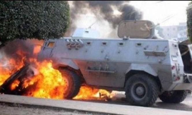 مقتل جندي مصري بتفجير بالعريش