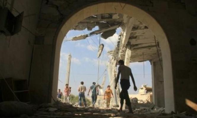 22 قتيلا مدنيا بغارات على منطقة خفض توتر بسورية