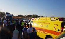 إصابتان في حادثين بشقيب السلام وعيلوط