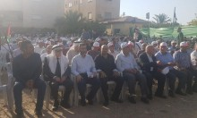 جماهير غفيرة تشارك بإحياء الذكرى الـ60 لمجزرة صندلة