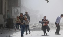 مقتل 11 مدنيا في غارات جوية متجددة على إدلب وحمص