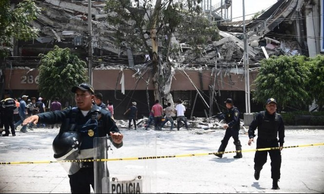 هزة ارتدادية تضرب العاصمة المكسيكية