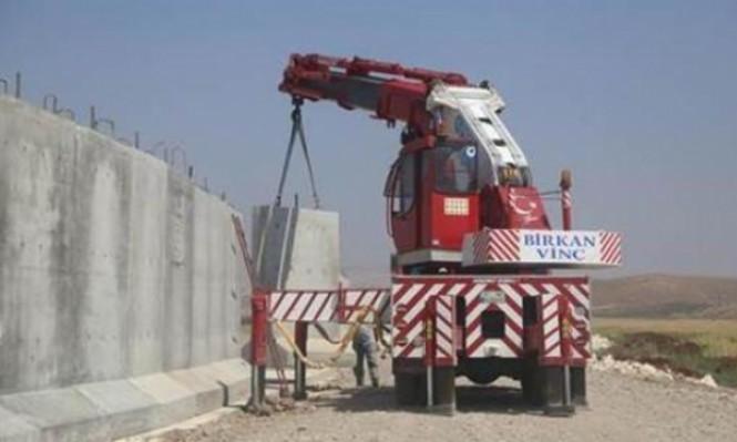 تركيا تنتهي من بناء جدارها العازل على الحدود السورية