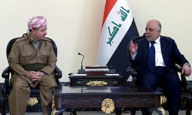 البارزاني مصر على الاستفتاء والعبادي يصفه بمحاولة تقسيم العراق