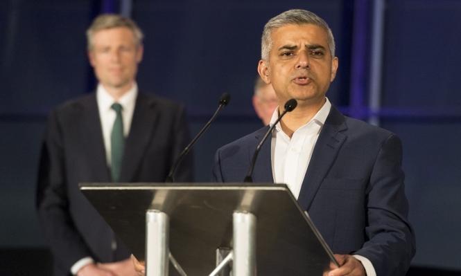 صادق خان يطالب بعدم استقبال ترامب في بريطانيا