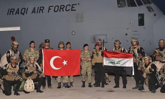 مناورات عسكرية عراقية - تركية مشتركة