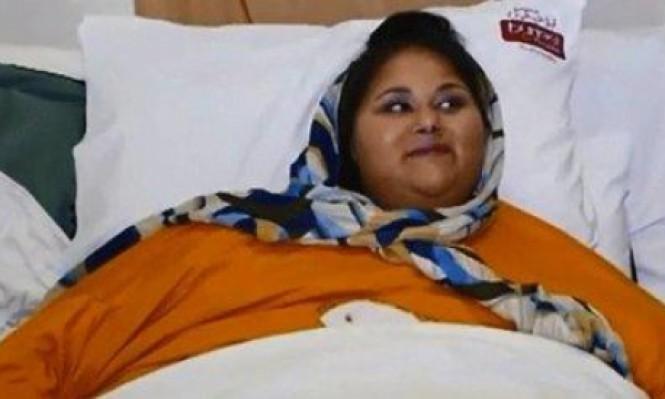 وفاة إيمان عبد العاطي أسمن امرأة في العالم