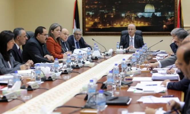 حكومة الحمد الله تشكل لجان استلام المعابر والدوائر بغزة