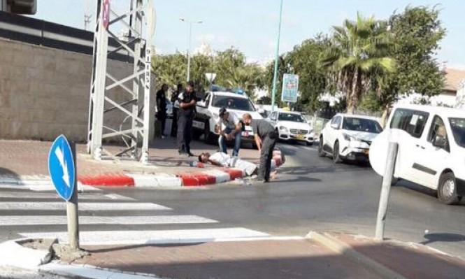 طعن عربي في شجار بمدينة الرملة