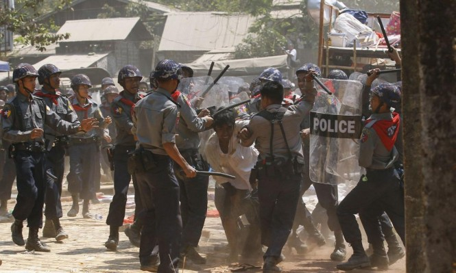 رغم التطهير العرقي إسرائيل تواصل بيع الأسلحة لبورما