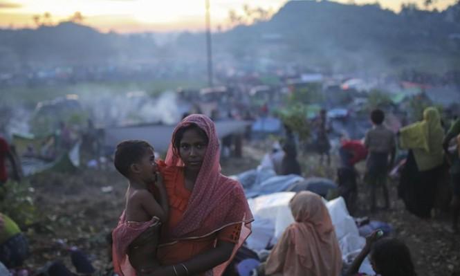 عدد اللاجئين الروهينغا ببنغلادش يقترب من نصف مليون