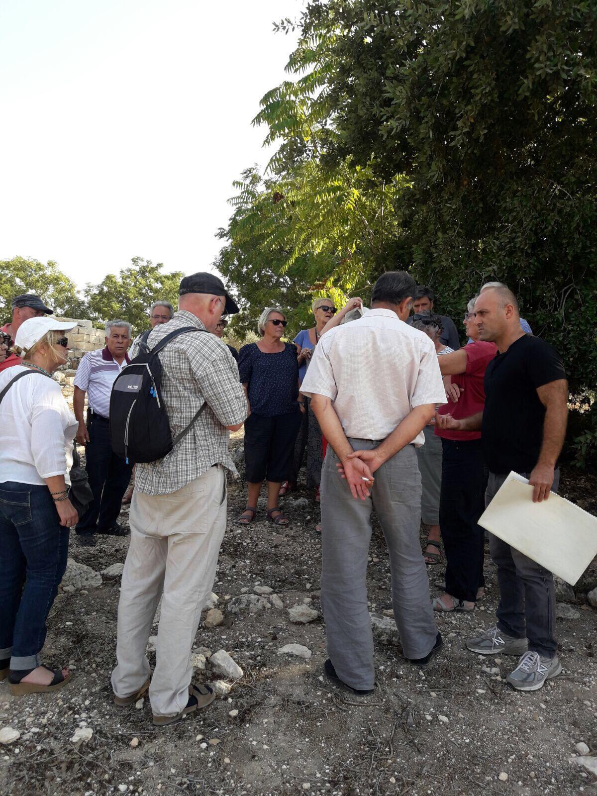 جمعية الدفاع عن حقوق المهجرين تستقبل وفدا فرنسيا في صفورية