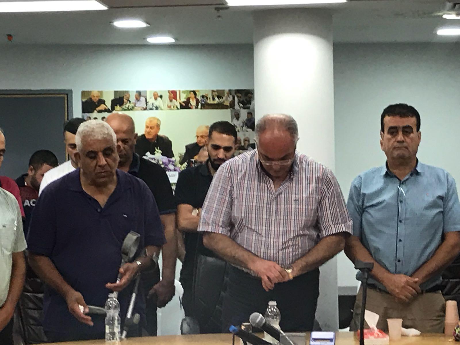 الطيبة: اجتماع طارئ عقب مقتل نزيه مصاروة