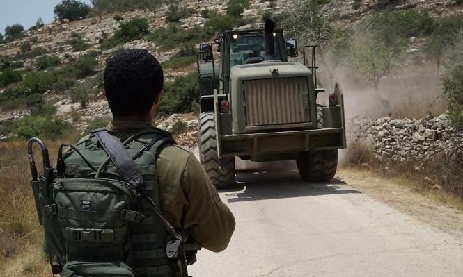 إصابة ثلاثة جنود إسرائيليين في انقلاب شاحنة عسكرية