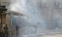 جنود الاحتلال يعتدون على الشرطة الفلسطينية بالخليل