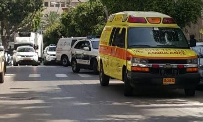 النقب: إصابة شخص في حادث عمل
