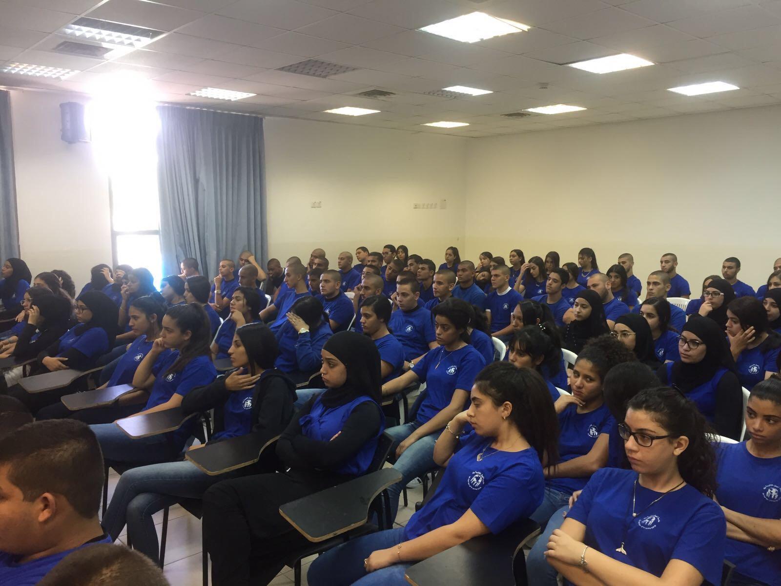 يافا: مشروع يافا المستقبل في ثانوية أجيال