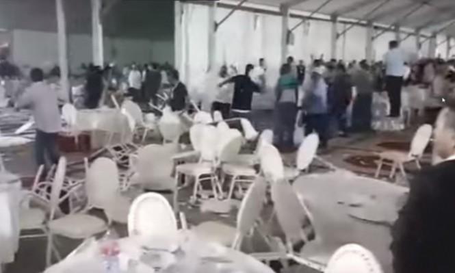 مؤتمر حزبي في المغرب يتحول إلى معركة... ووقوع إصابات