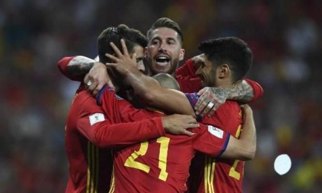 منتخب إسبانيا مهدد بالاستبعاد من مونديال 2018