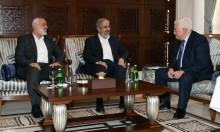 هنية يهاتف عباس لتعزيز مناخ المصالحة