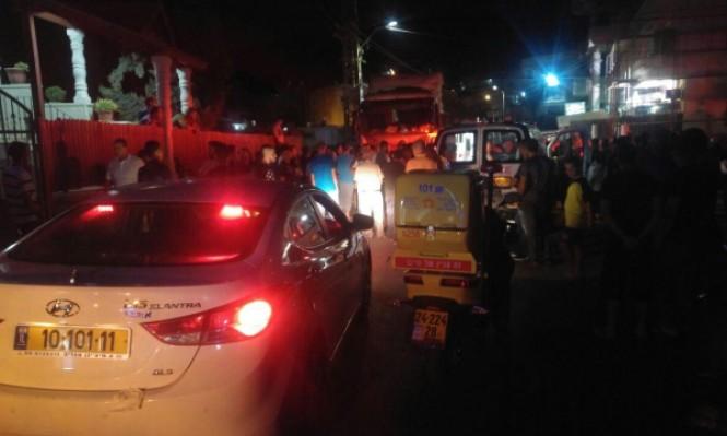 دبورية: إصابة بالغة بحادث طريق بين شاحنة ودراجة