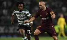 الإصابة تبعد إنييستا عن برشلونة لمدة 10 أيام